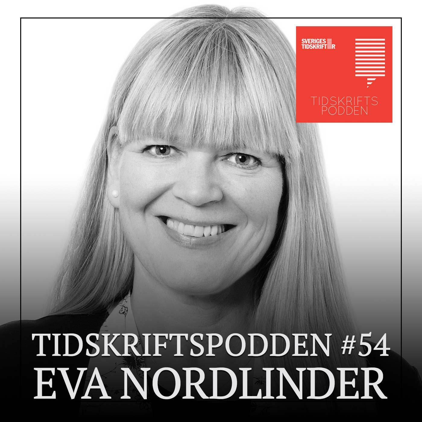 Eva Nordlinder, gäst i Tidskriftspodden