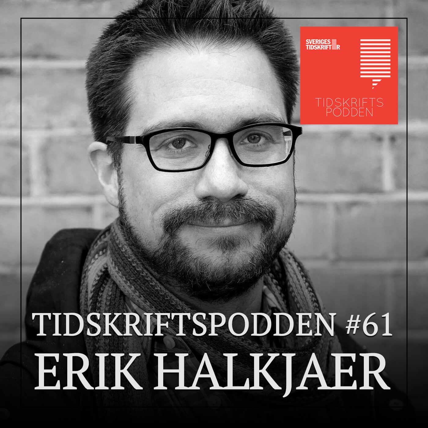 Erik Halkjaer, ordförande Reportrar utan gränser