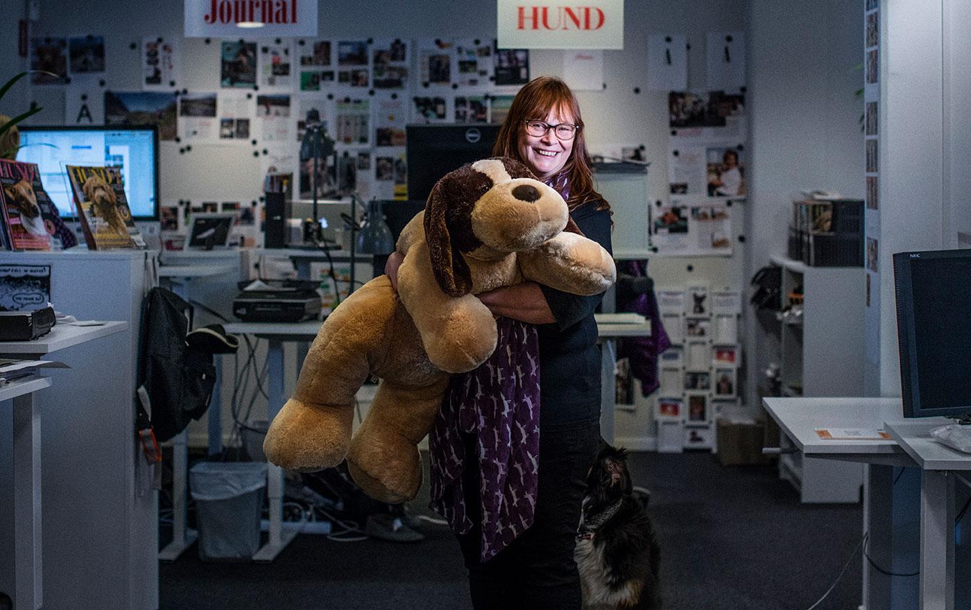 Chefredaktör Härliga hund