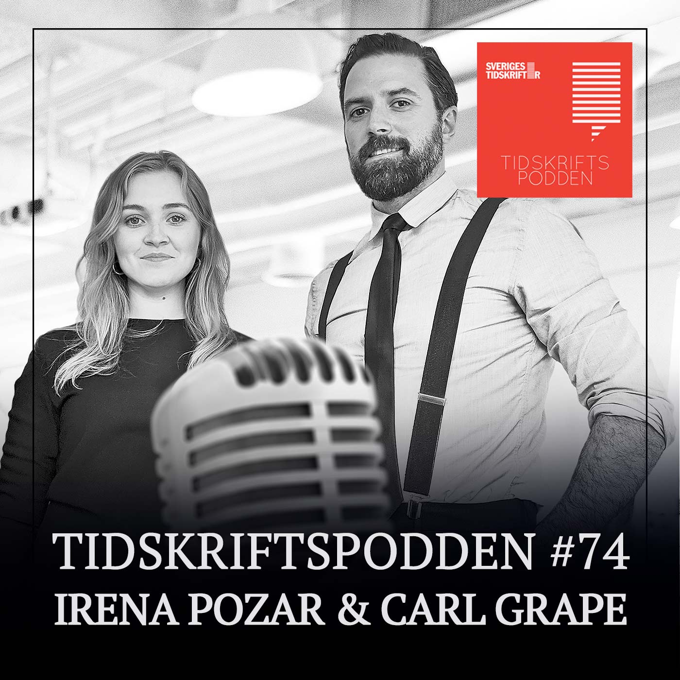 Irena Pozar och Carl Grape