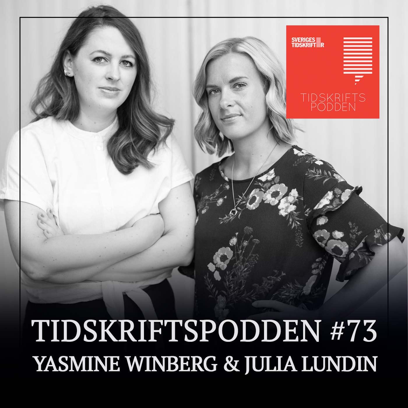 Yasmine Winberg och Julia Lundin