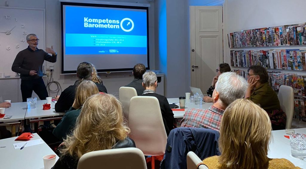 Björn Lorentzi presenterar Kompetensbarometern