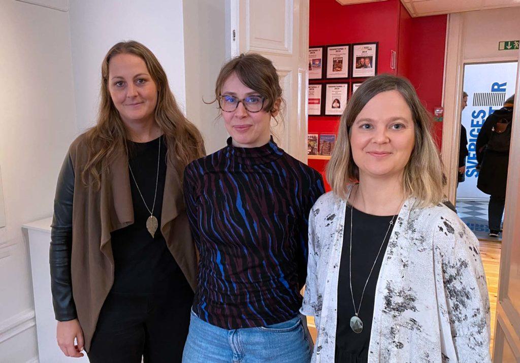 Susan Garpensund, Market och Karin O'Mahony och Sanna Gustavsson, Chef