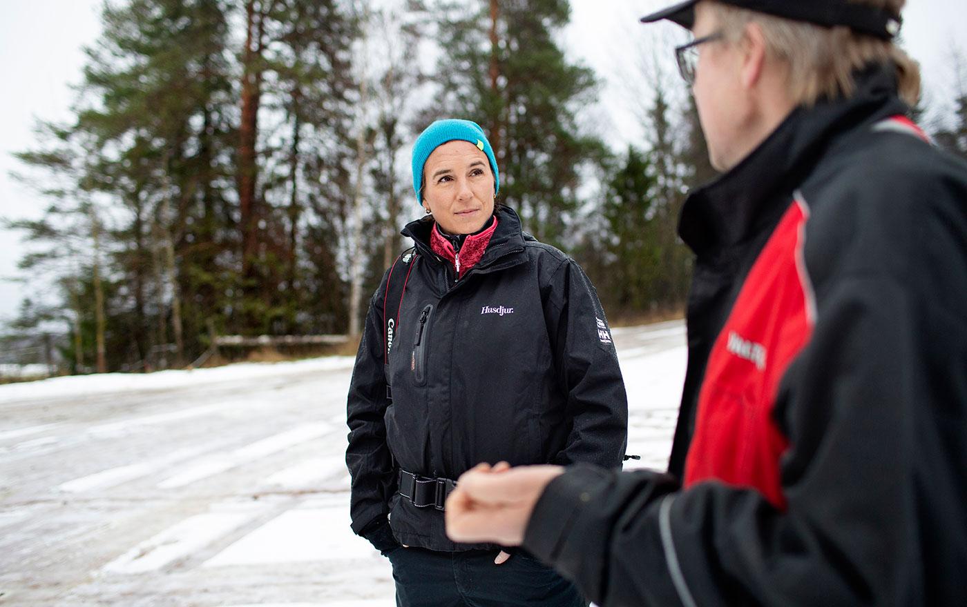En dag med tidningen Husdjur. Foto: Malin Grönborg
