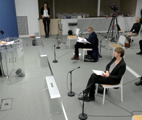 Amanda Lind presskonferens