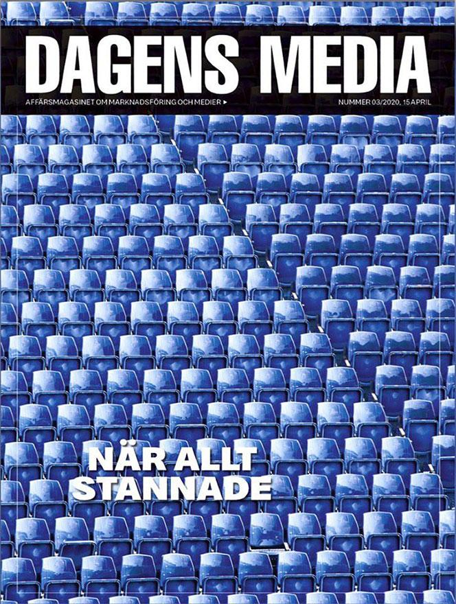 Dagens Media omslag corona