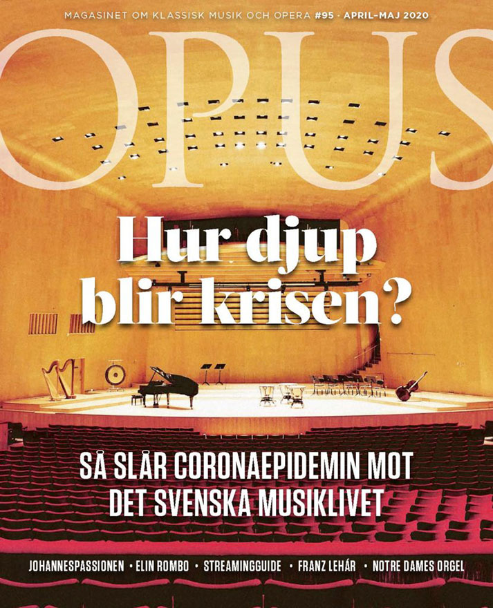 Opus omslag corona