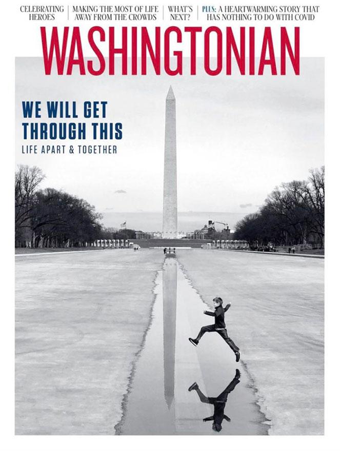 Washingtonian omslag corona