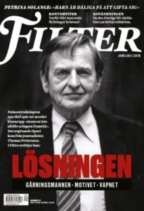 Filter omslag Olof Palme