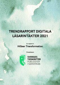 Trendrapport digitala läsarintäkter 2021